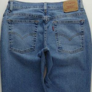 VTG Levi's 505 Straight Leg Jeans Women's 8 B125